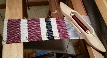 Prayer Stole on Loom