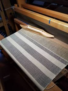 Tallit on Loom
