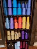 Slim Tallit Weft Colors 1